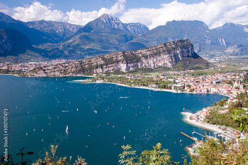 Conca del Lago di Garda Canvas Print