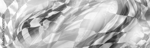 Fotografia Checkered racing flag