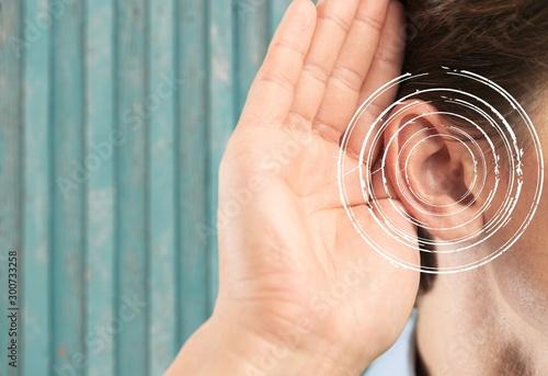 Fotomural  Hearing.