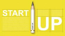 3D Illustration Of An Start Up...