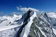 canvas print picture - Biancograt, Piz Bernina