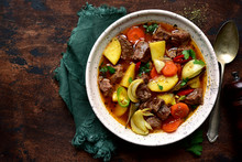 Beef Stew With Vegetables. Top...