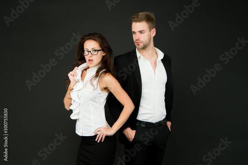 Harmless flirtation Fototapet