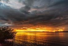 Spectacular Sunset At Islamora...