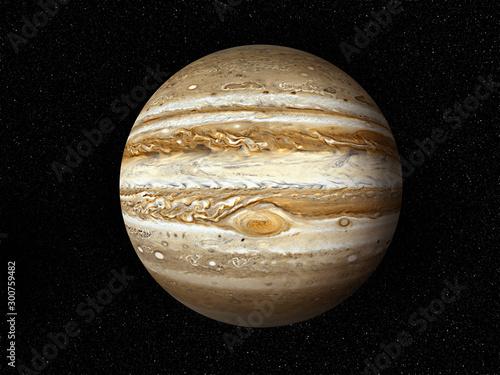 Valokuva planet Jupiter 3D