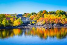 Autumn Landscape View Of Color...