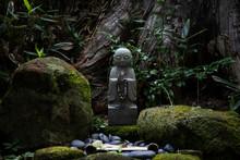 Buddha Statue In The Tokio Temple, Japan
