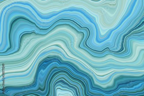 Marble ink colorful. Blue marble pattern texture abstract background. can be used for background or wallpaper