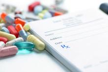 Prescription Pad And Medications