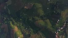 Aerial View Pa Bong Piang Padd...
