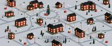 Christmas Night City. Winter X...
