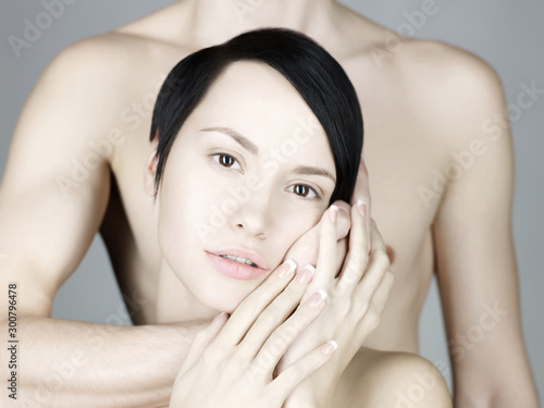 Fotobehang womenART Young sensual couple