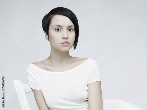 Fotobehang womenART Young beautiful woman