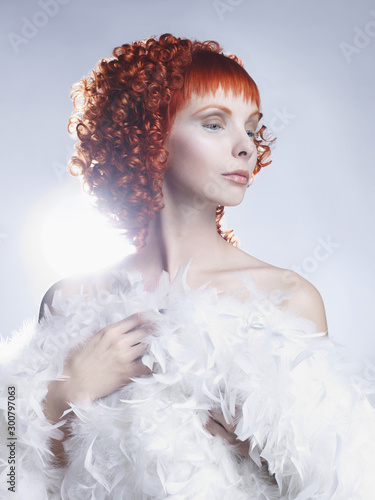 Fotobehang womenART Angelic woman