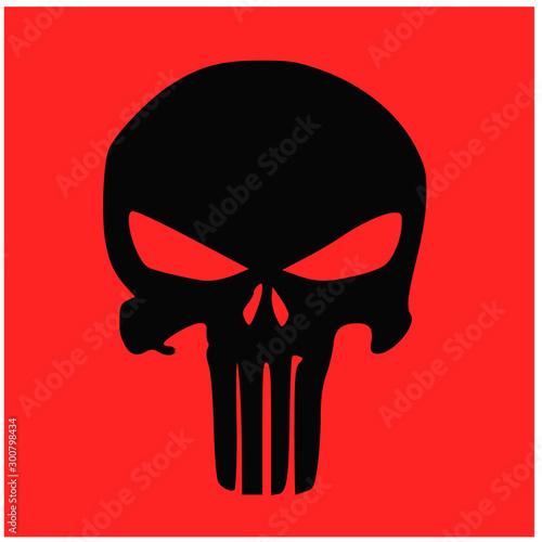 skull and Bones icon Tablou Canvas