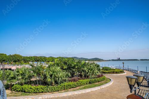 Scenery of Humen Waterfront Park, Dongguan, Guangdong, China Canvas Print