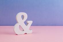 Carved Ampersand Symbol Placed...