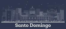 Outline Santo Domingo Dominica...