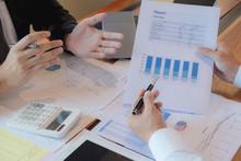 Businessmen, Financial Account...