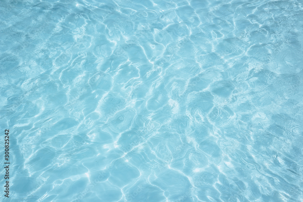 Fototapety, obrazy: Blue pool water texture