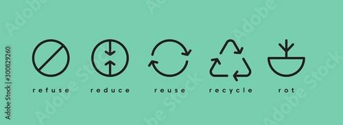 Valokuvatapetti Earth day. Ecology banner social media vector