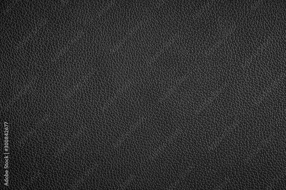Fototapety, obrazy: Black leather texture can be use as background