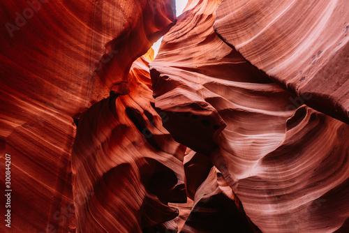 Canvas Prints Antelope Beeindruckende Sandstein Formationen im Lower Antelope Canyon in Page/arizona USA
