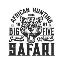 Hunting Sport Emblem, Jaguar A...