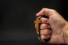 The Crucifix Is In The Hands O...
