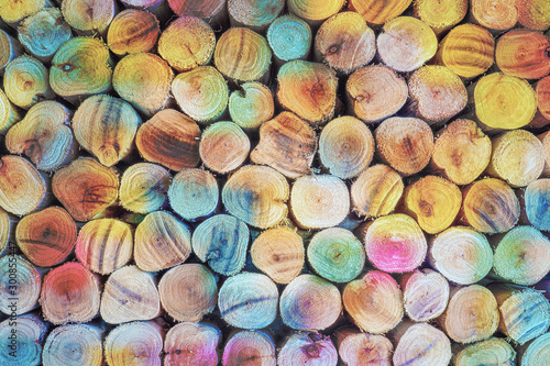 Fotobehang Brandhout textuur colored wooden texture background, wallpaper wood