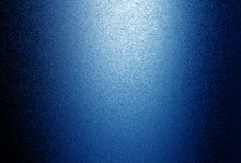 Ground Glass Texture With Light In Navy Blue Tone.