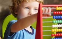 Preschooler With A Tablet Comp...