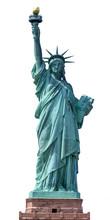 The Statue Of Liberty. Manhatt...