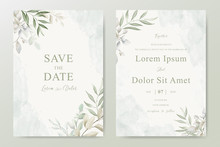 Watercolor Wedding Invitation ...
