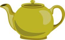 Tea Pot, Illustration, Vector ...