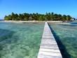 Belize île