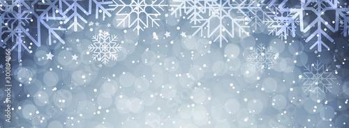 Fotografiet  Winter background