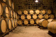 Win Production In A Winery In Malta