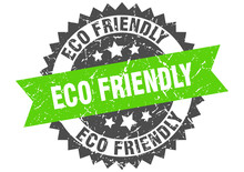 Eco Friendly Grunge Stamp With...