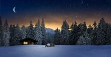 Gemütliche Holzhütte Mit Bel...