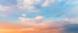 Leinwandbild Motiv Beautiful sunset sky. Nature sky backgrounds.