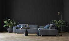 Modern Interior Living Room De...
