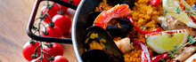 Delicious Spanish Seafood Pael...