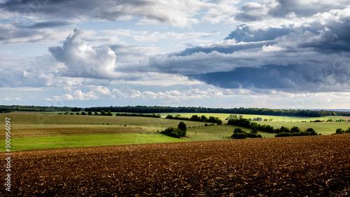 Paysage de campagne Fototapet