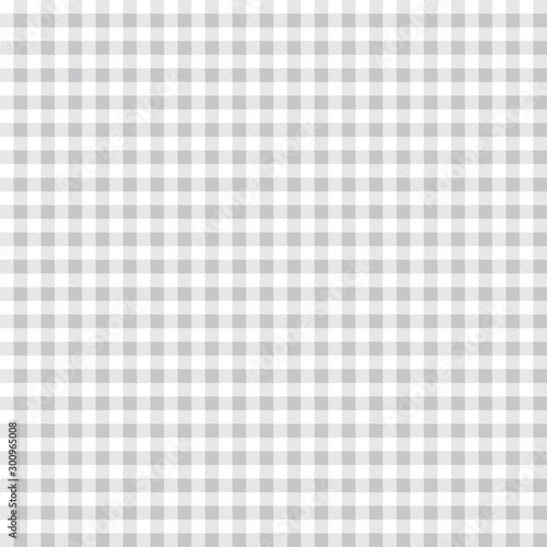 Türaufkleber Künstlich Gingham pattern. Square geometric texture for plaid, tablecloths, clothes, T-shirts, dresses, paper, bedding, blankets, quilts and other textile products. Seamless vector background