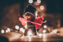 Wooden Angel Christmas Garland...