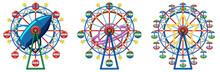 Three Designs Of Ferris Wheels...