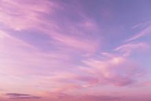 Dramatic Sunrise, Sunset Pink ...