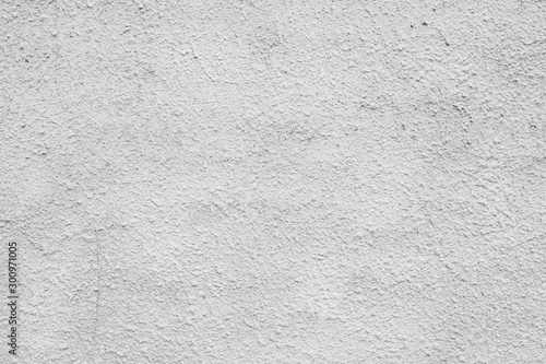 Fotomural  Cracked concrete grey wall covered with gray cement texture as background can be used in design
