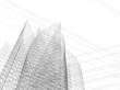 architecture building 3d vector illustration
